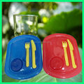 Plastic tiffin holder tiffin carrier set with competitive price