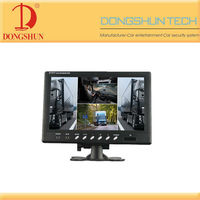 4CH 9 inch rearview car LCD monitor /BUS/TRUCK/CCTV