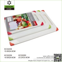 Professional Colorful Plastic Mincing Board