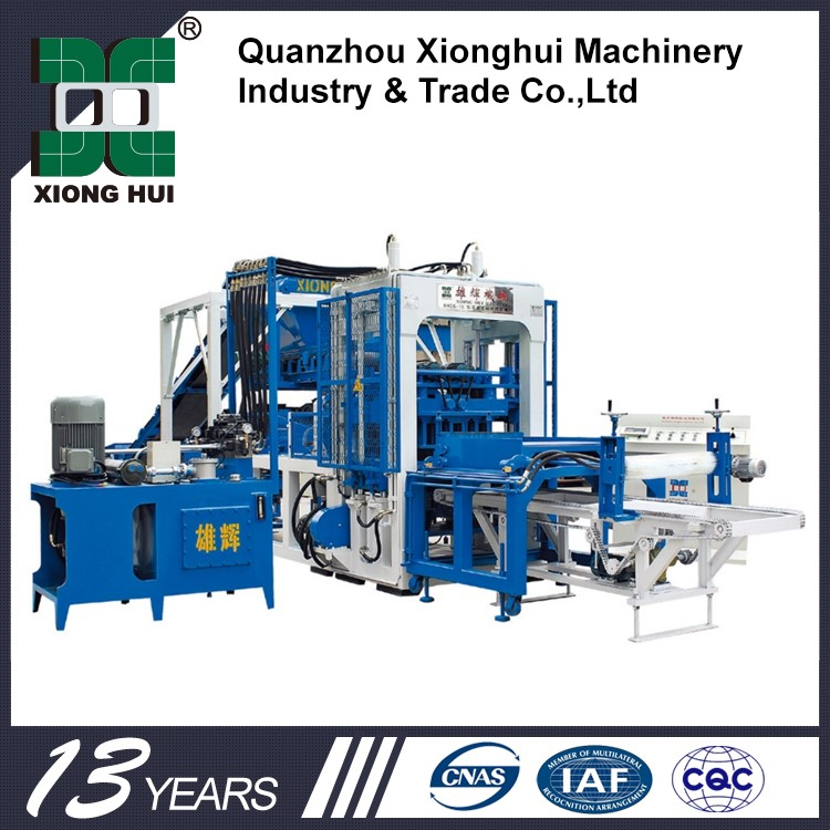 Factory Price Light Weight Brick Automatic Block Machine For Cape Verde