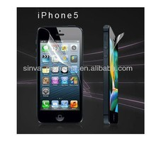 For iPhone 5 4 For New Model Mobile Phone Popular HD Clear Matte Anti-Scratch Liquid Screen Protector Film Front and Back