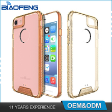 Protective Tpu Acrylic Bumper Shell Clear Phonecase Blank Phone Case Mobile Cover For Iphone 7