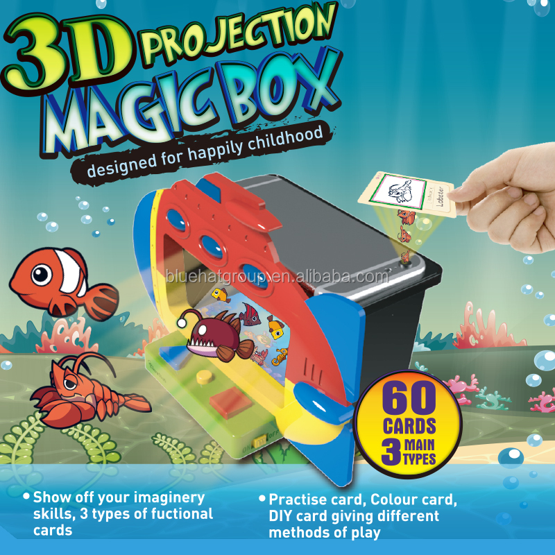 Augmented Reality fish game and educational toys for kids
