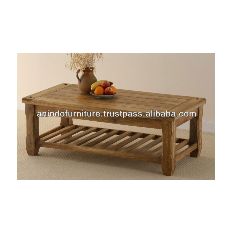 PSE Series Coffee Table with Base Buffer