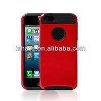 Soft TPU silicone Bumper Hybrid Case Cover For iPhone5 case