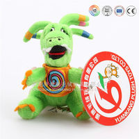 Dragon mascot stuffed animals with big eyes