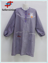 No.1 yiwu commission agent wanted Fashion Long Full Body Sleeve Aprons, Cooking Apron
