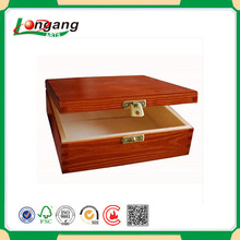 JD-DGPB18 luxury box corporate gift for wooden leather pen box