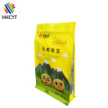 Custom Logo Flat Bottom Plastic Laminated Foil Ziplock Food Packaging Bag for Tremella