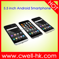 Unlocked 5.5 Inch Dual SIM Card Quad Core X-BO G5 Android Touch Screen Smart Mobile Phone