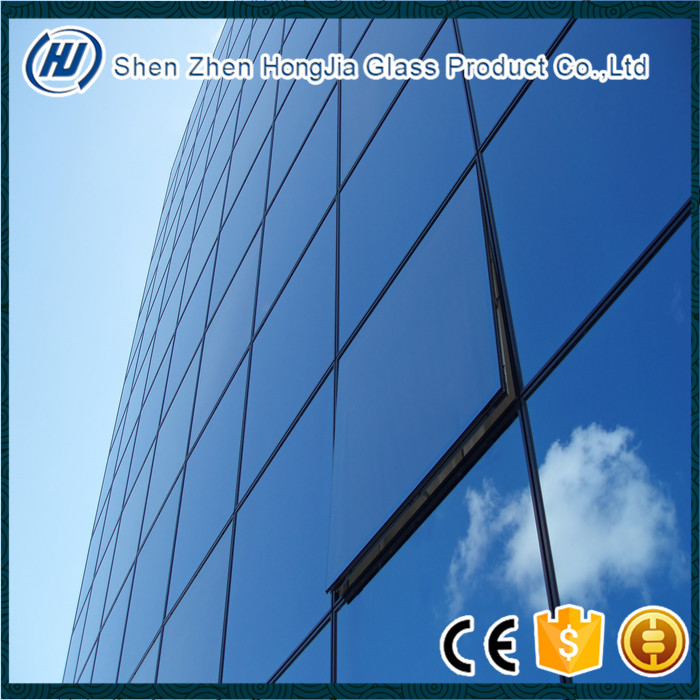Hot sale Low-e energy double glazing insulated glass for curtain wall