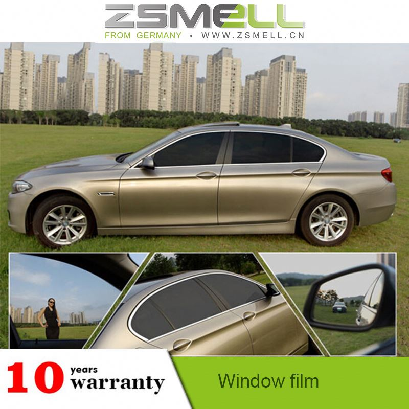 Easy Clean & Maintain Decorative Window Film and Window Tint Automotive Window Tinting (Car).