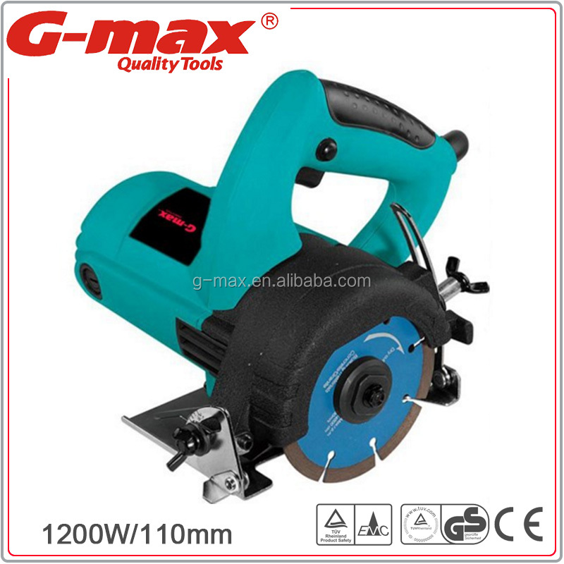 G-max Electric 1200W 110mm Concrete Tile Marble Cutter GT15008