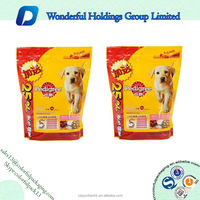 cheap plastic pet food/dog and cat food packaging bags with ziplock manufacturer