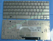 Original new keyboard For hp mini 2133 2140 silver ru layout mp-07cq3su6930