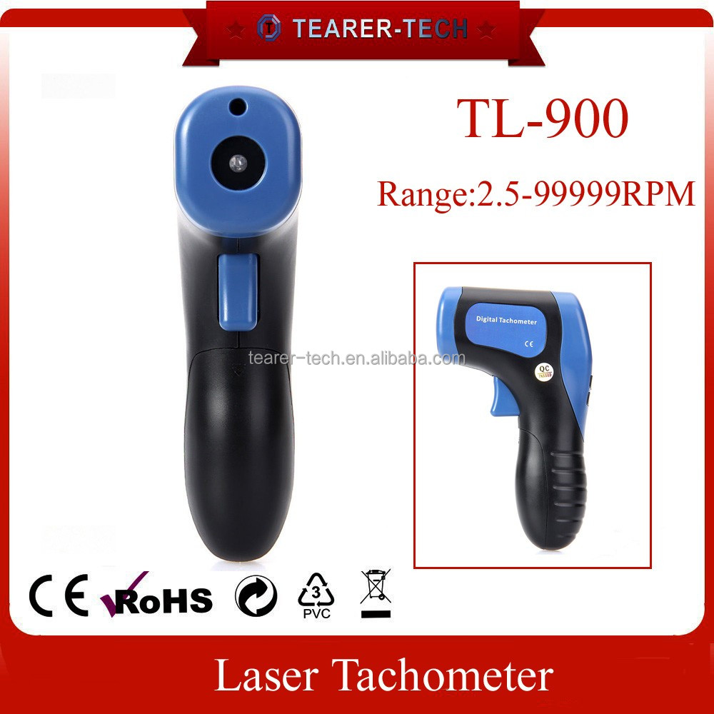 high accuracy Non-contact Laser Photo 2.5-99999 RPM tachometer TL-900