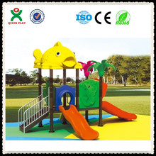 High quality outdoor children plastic the names of playground equipment QX-055E