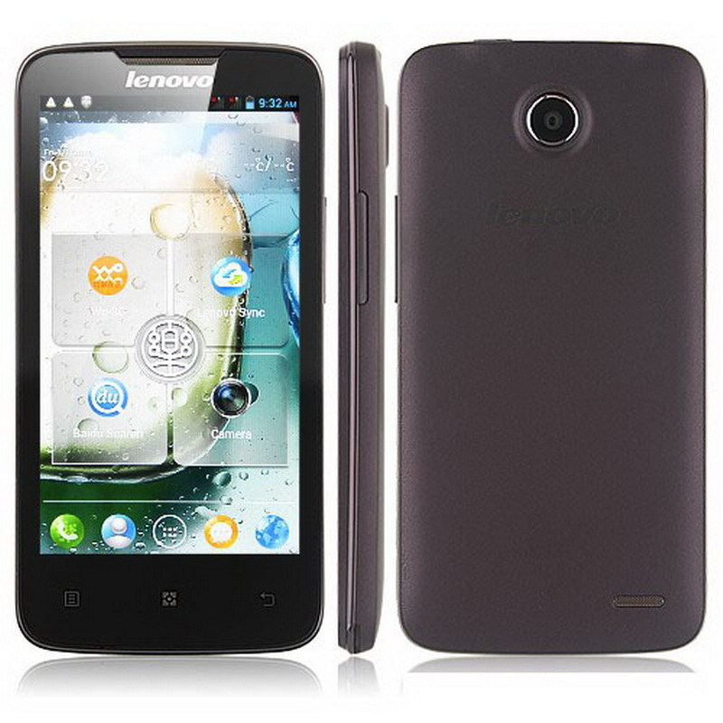 Original Lenovo A820 phone Quad-core CPU 4GB ROM 1GB RAM 8.0M Camera 56 language black white