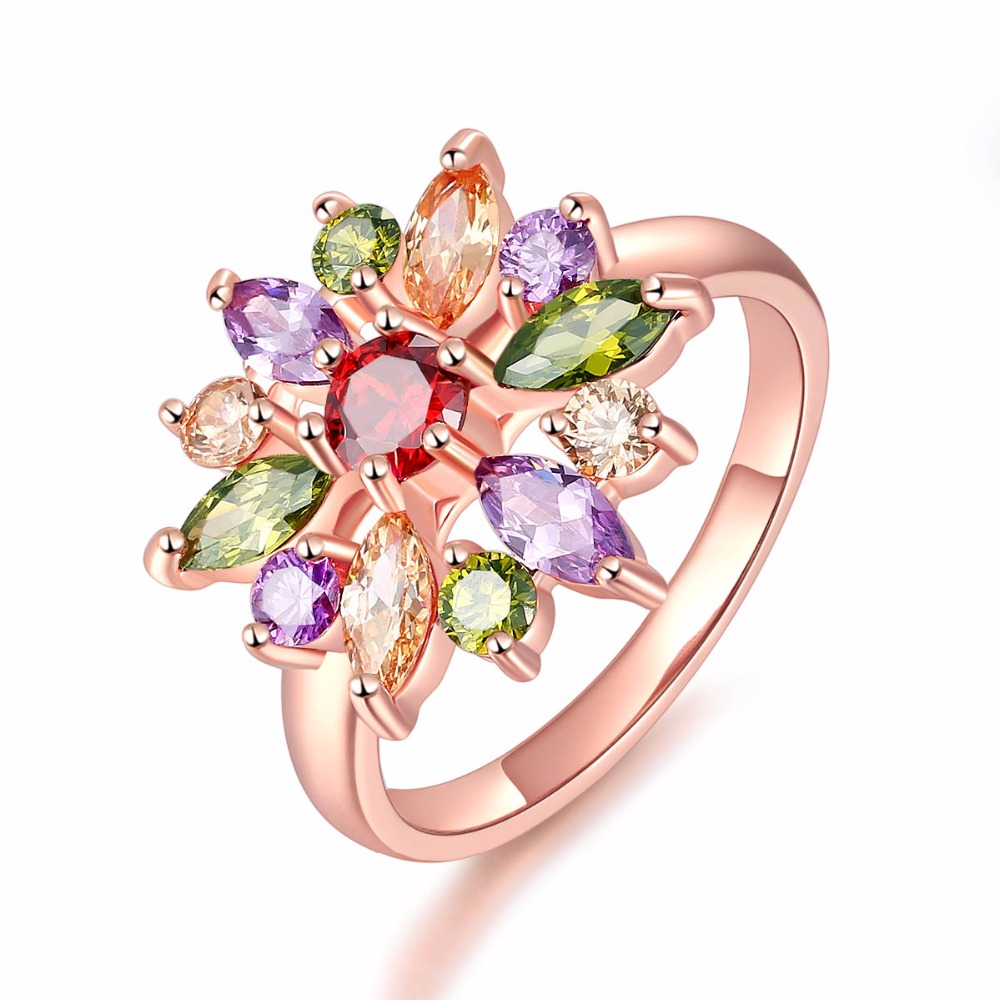 Best factory price wholesale high quality colorful stone latest gold finger <strong>ring</strong> designs for women