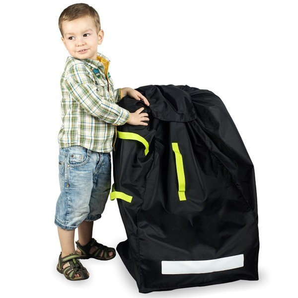 DURABLE Car Seat Travel Bag Ideal Gate Check Bag for Air Travel & Saving Money For Safe, Secure & Germ-Free Car Seat