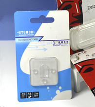 Sliding card blister packaging pvc plastic packing with factory price