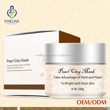 100% herb orginal pearl whitening facial mask