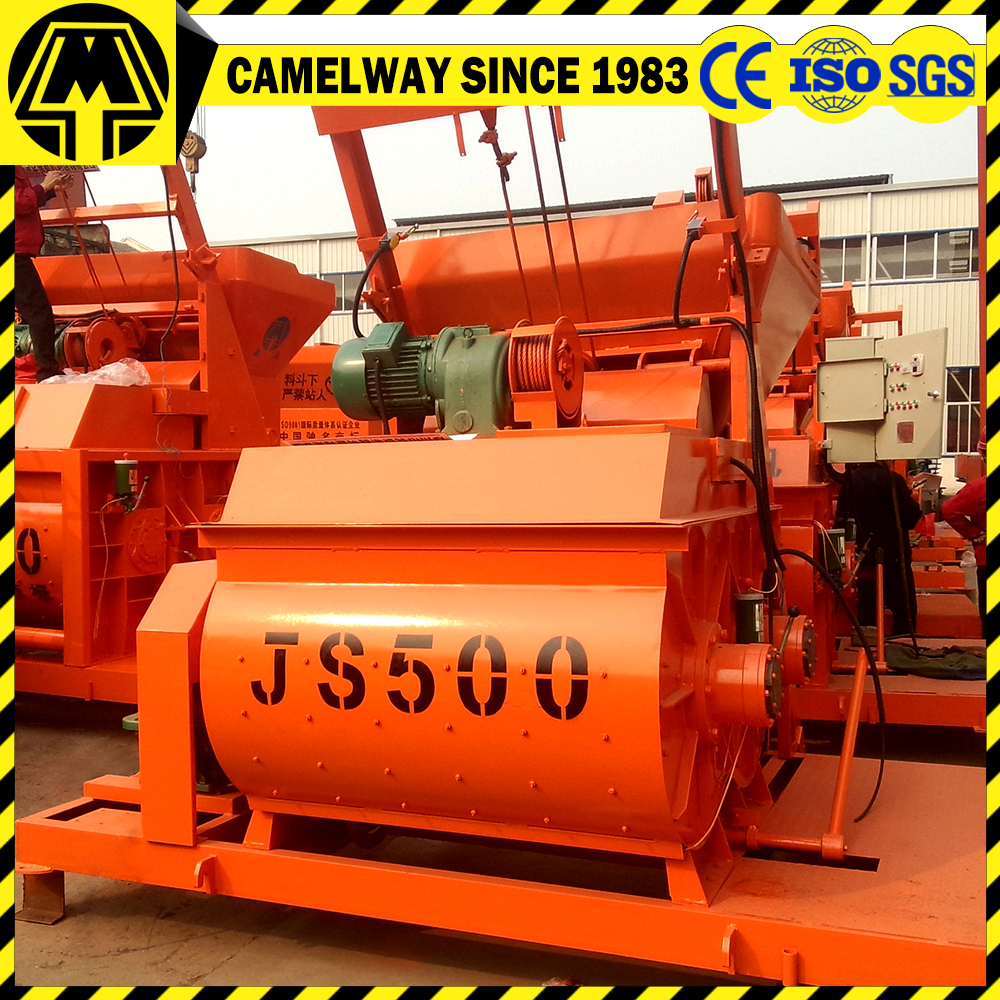Stainless Steel Concrete Mixer : Camelway supply twon shaft stainless steel cement mixer