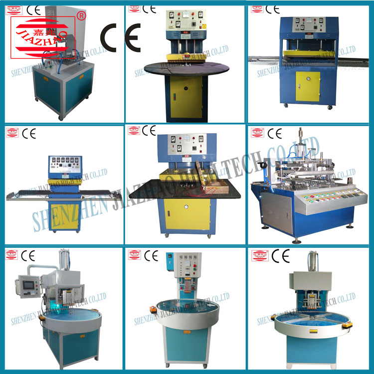 China Supplier Jingyi 15kw high frequency shoes machine with welding &amp embossing function from China famous supplier