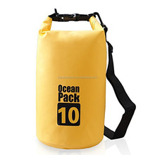 Waterproof Dry Bag Dry Sack with Detachable and Adjustable Shoulder Strap, Perfect for Boating/Kayaking/Fishing/Beach/Swimming