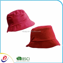 Winter warm 100% polar fleece and nylon reversible bucket hat men women daily fit sun hat for promotion