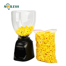 Hearing Protection Foam earplugs with 500 pairs disposable uncorded earplug dispenser