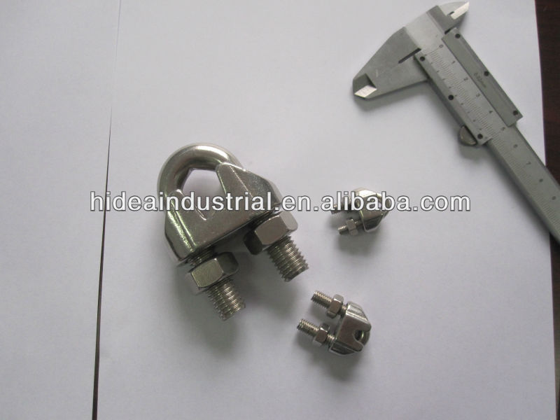 Stainless Steel US Type Malleable Wire Rope Clip Grip