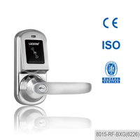 2015 zinc alloy nfc hotel electronic lock for small hotel