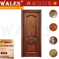 Excellent soundproof type teak wooden restaurant entrance doors