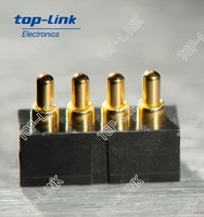 4-pin pogo pin battery connector
