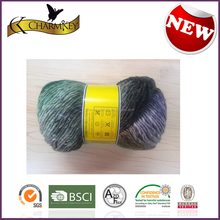 2015 Hot sale in North American Jacquard merino wool knitting yarn/thread