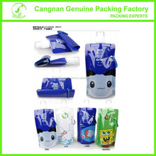 Top quality manufacturer Portable collapsible water bottle with cantoon