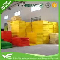 expanded polyethylene sheet double color eva rubber sheets foam packing for wholesales