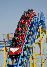 2016 hot sale new design theme park rides roller coaster