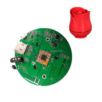 High quality bluetooth audio receiver pcb board and SMT RDA bluetooth speaker pcb assembly