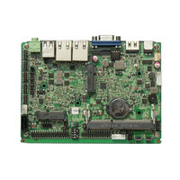ZC35-N28DL Fanless Industrial Motherboard, Fanless PC Motherboard,