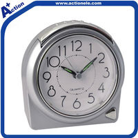 Plastic Analog Table Clock for Promotional