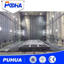 Steel Structure Cleaning Equipment Vacuum Recycling System Sand Blasting Booths