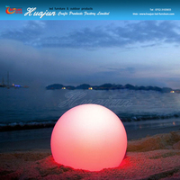 ball for outdoor with led/illuminated decoration ball lighting for garden