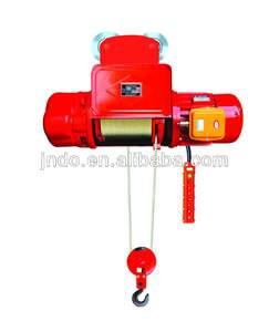 competitive price 5 ton mini monorail traveling electric wire rope hoist