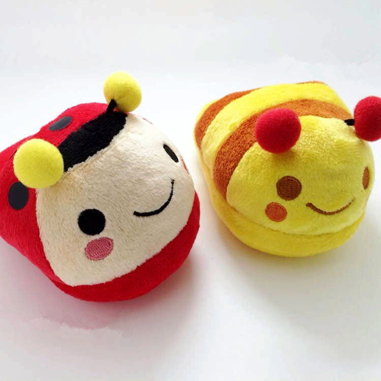 New Arrival So Cute Mini pet toys Stuffed bee Toy Baby Plush Toy