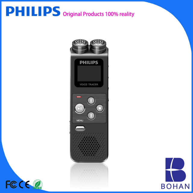 PHILIPS Microcassette Voice Recorder with Superior Audio Recording