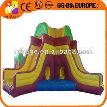 commercial inflatable kids climbing structure with slide for kids and adult