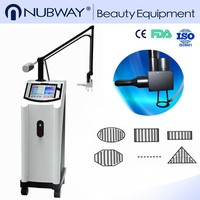 professional 10600nm 40w vertical medical co2 fractional laser beauty machine with vaginal head