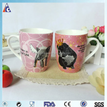 2014 world cup gifts hot selling promotional ceramic mug / tea cups
